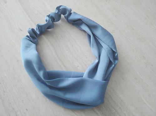 Satin Headband || Blue Me Away
