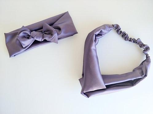 Mama & Me Set || Matching Satin Headbands