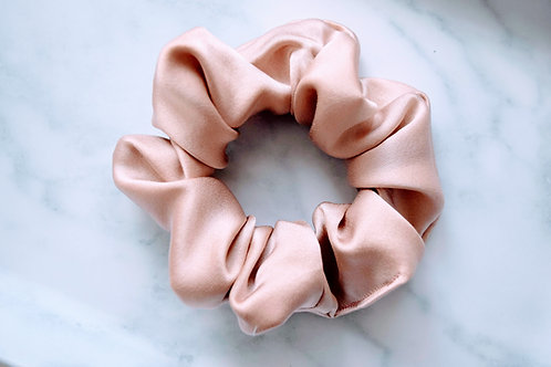 Mulberry Silk Scrunchie || Golden Hour