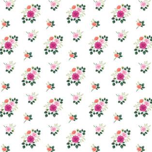 Little Dahlias Pattern