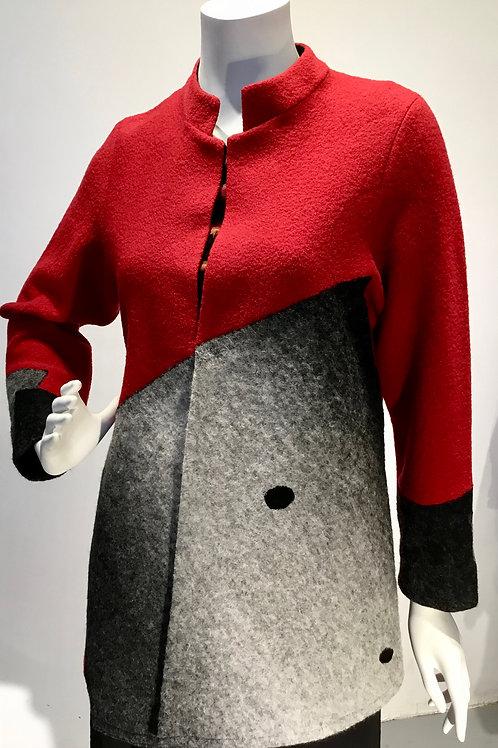 Merino Wool Felt jacket by Mina Norton