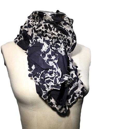 Hand made shibori scarf by Yuh Okano