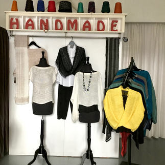 Handwoven Rayon Boucle clothing and accessories