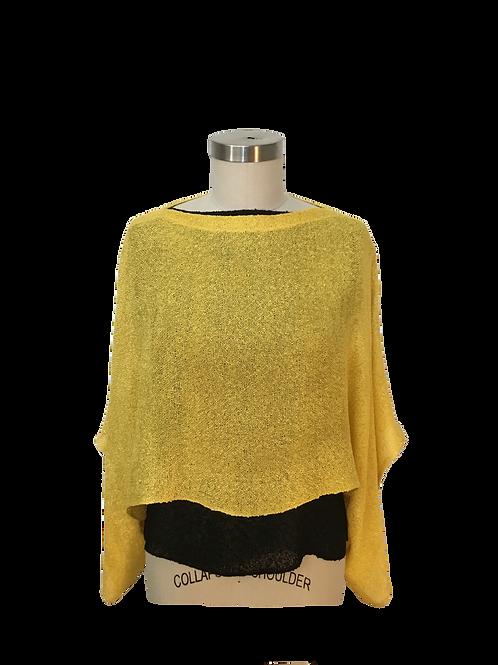 Yellow Handwoven Sweater