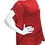 Thumbnail: Red Handwoven cap sleeve top