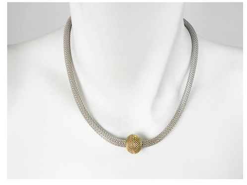 EZ11 Mesh necklace with magnetic clasp