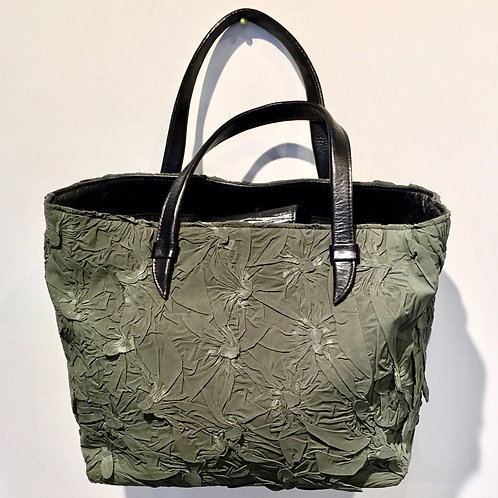 YO110 Shibori Handbag by Yuh Okano
