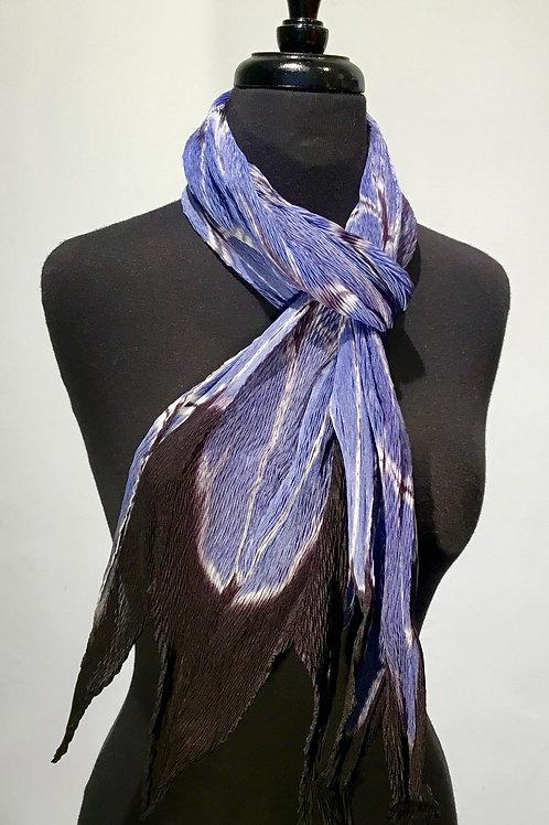 Laura Hunter shibori scarf