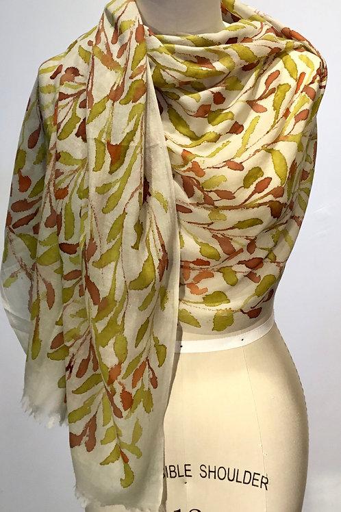 YO95 Shibori scarf by Yuh Okano