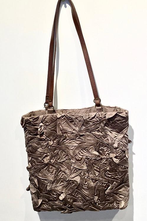 YO116 Shibori Handbag by Yuh Okano