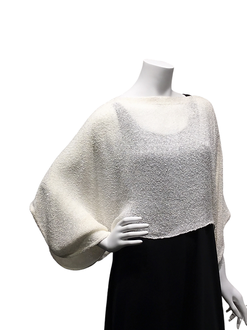 Ivory Handwoven Sweater