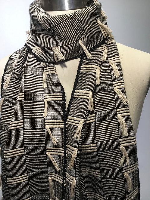 PW12 Handwoven Bamboo Scarf