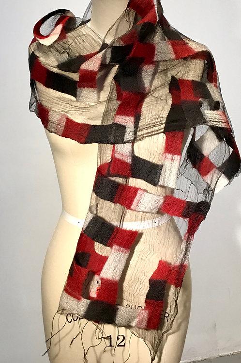 BF190 Illusion scarf/wrap by Barbara Poole
