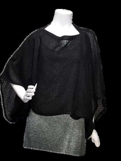Black Handwoven Sweater