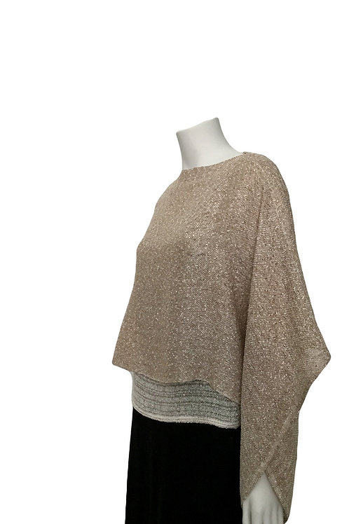 Oat Handwoven Sweater