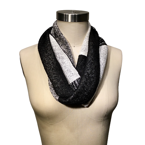 Handwoven Infinity Scarf Double Loop by Dahlia