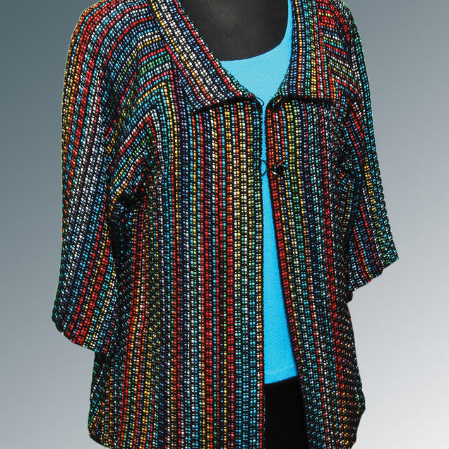 Hand woven Lucy Jacket