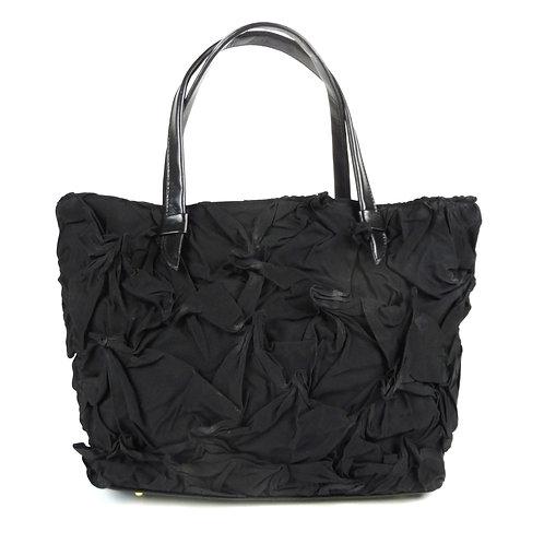 YO 108 Toto Shibori Bag by Yuh Okano