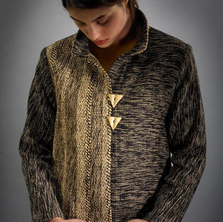 Handwoven Mandarin Jacket