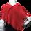 Thumbnail: Red Handwoven Mobius Wrap