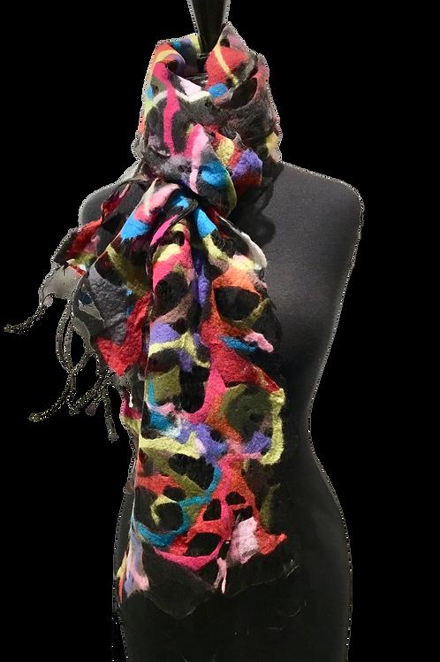 Barbara Poole confetti scarf