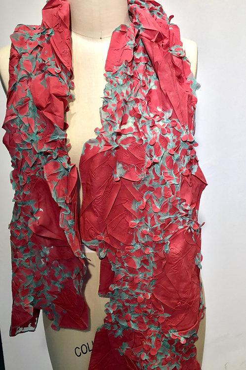 YO100 Shibori scarf by Yuh Okano