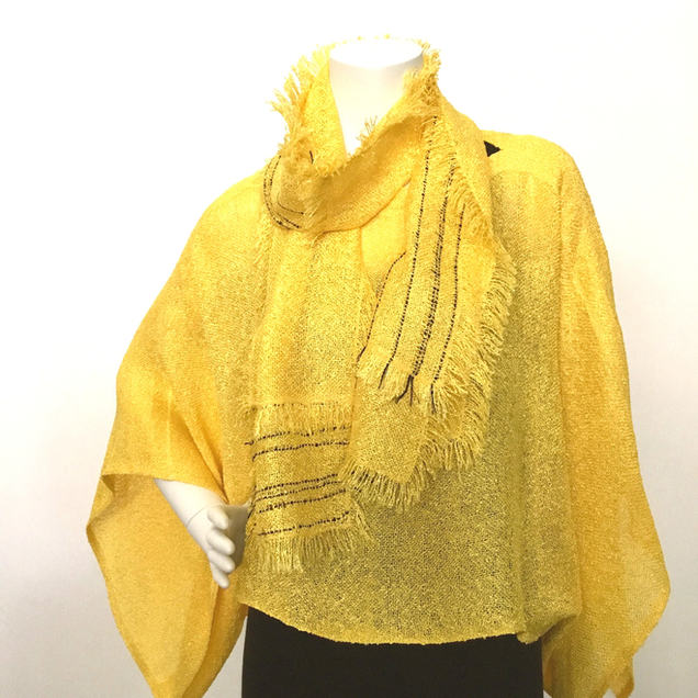 Handwoven Yellow Ensemble