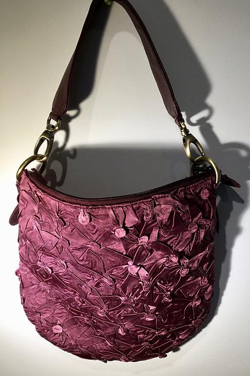 YO113 Shibori zippered bag by Yuh Okano