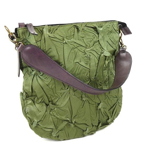 YO112  Shibori Handbag by Yuh Okano