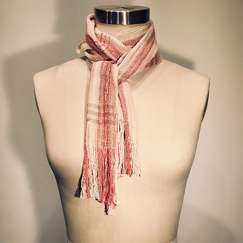 Handwoven scarf by Kathy Weigold
