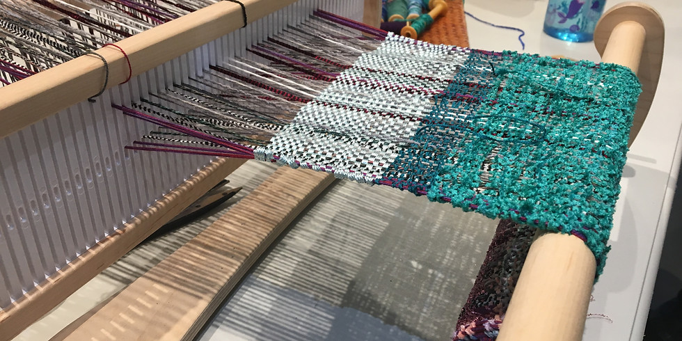 Weave an Infinity Scarf Workshop at Lexington Arts and Crafts Society
