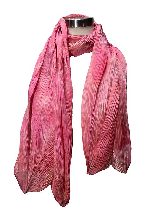Rose Petal Silk Scarf by Leni Hoch