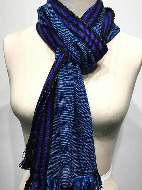 PW16 Hand woven scarf by Pamela Whitlock