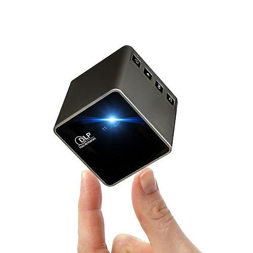 UNIC P1 Plus WIFI Wireless Pocket DLP Mini Projector 30 Lumen