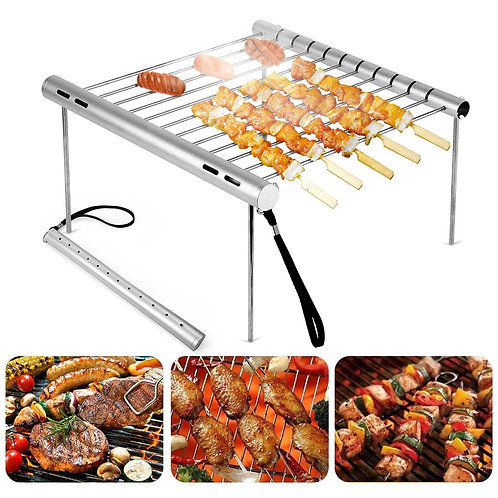 Portable Stainless Steel BBQ Rack