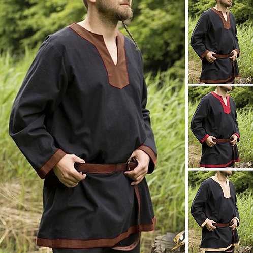 Men's Medieval Long Sleeve Top