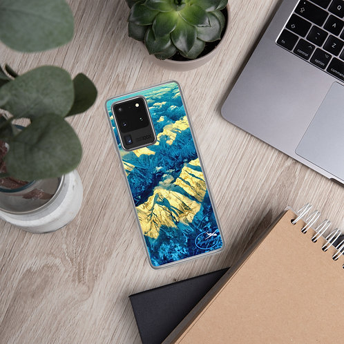 Samsung Phone Cases, Sunset European Alps, by The FlyingBroker
