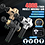 Thumbnail: Electric Percussion Massager Gun, Cordless, LCD Touch