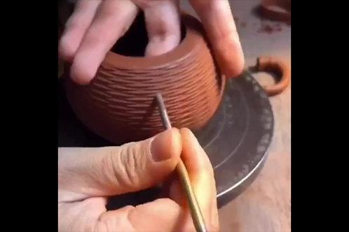 Custom Handmade Ceramic Teapot
