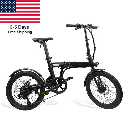 """CAMO 20"""" Foldable Electirc Bicycle 250W 36V with Battery"""