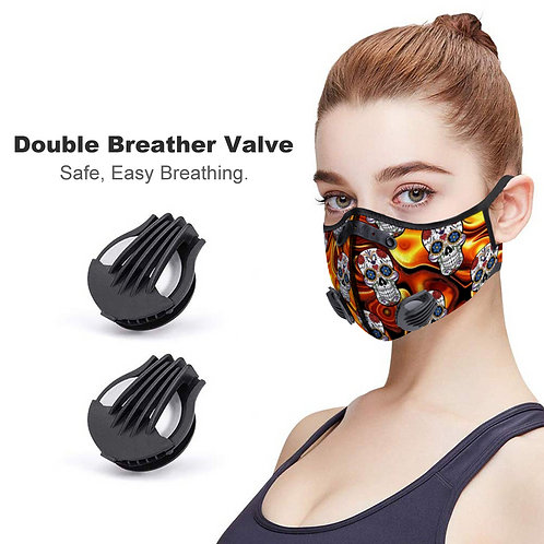 Day of the Death, Face Cover, Dust Proof & Reusable