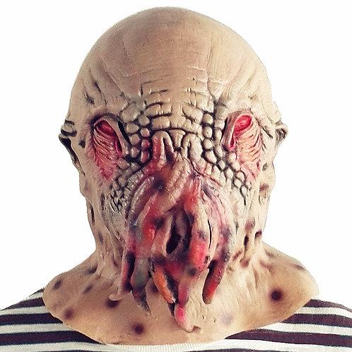 Scary Alien Octopus Head Mask