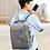 Thumbnail: 3Pcs Backpack Set 20.8L 15.6-inch USB Charging Port Waterproof