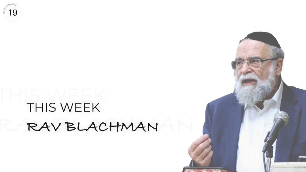 Rav Menachem Mendel Blachman