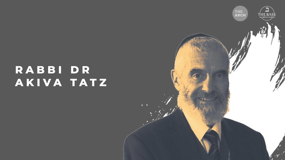Rabbi Dr Akiva Tatz