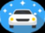 full car detailing icon