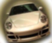 shiny car waxed