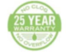 gutter protection warranty