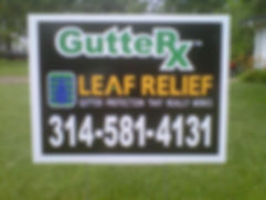 gutter-rx-yard-sign