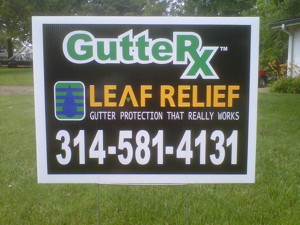 gutter-rx-yard-sign